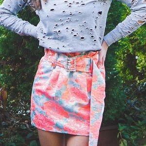 FOR LOVE & LEMONS ❤️🍋 Jackpot Mini Skirt XS NWOT